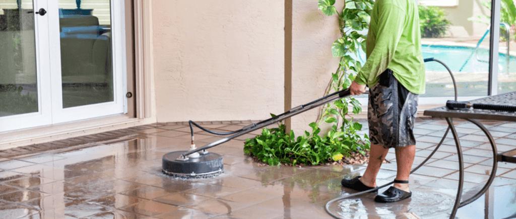 Pool Deck Pressure Washing | Dino's Pressure Cleaning | Jupiter, FL